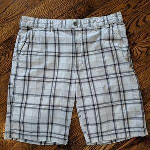Plaid Perry Ellis Shorts